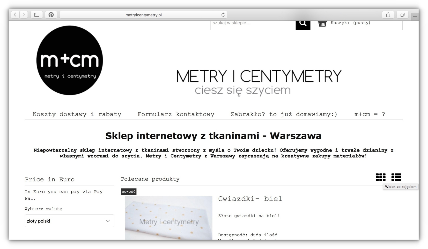 Metry i Centymetry